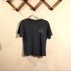 Vans | Grey graphic tee youth large